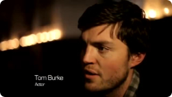 Tom Burke at the 2012 Carols by Candlelight event.