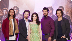 Musketeers in South Africa- copyright BBC Worldwide