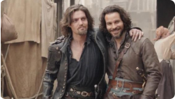 Musketeers S3 - photo courtesy of Jessica Pope