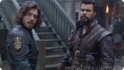 Tom from Season 3 as Athos - photo from Jessica Pope at the BBC