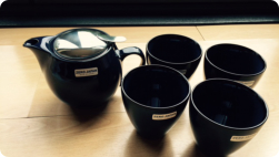 Zero Japan tea set for Tom's birthday (Photo Fiona Perry)