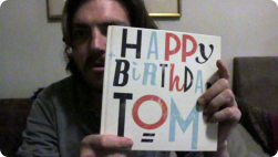 Tom's thank you video :)