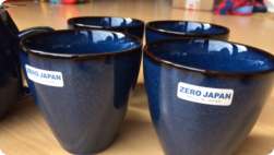 Zero Japan tea bowls/cups (photo Fiona Perry)