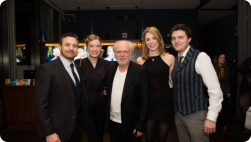 Reasons to be Happy press night from Hampstead Theatre website