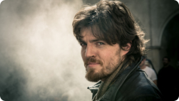 Tom as Athos in the Musketeers